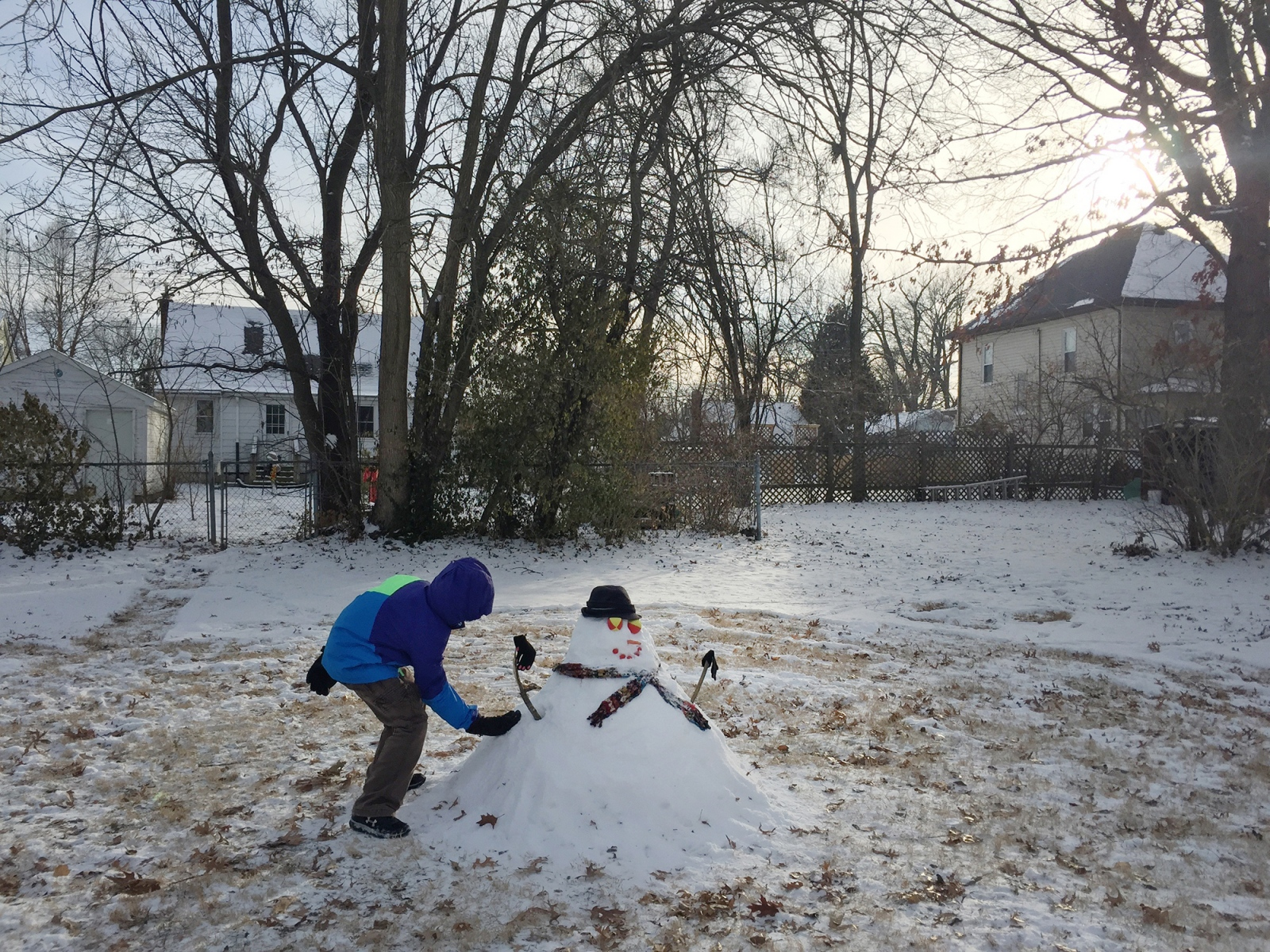 Art and Documentary Photography - Loading snowman.jpg