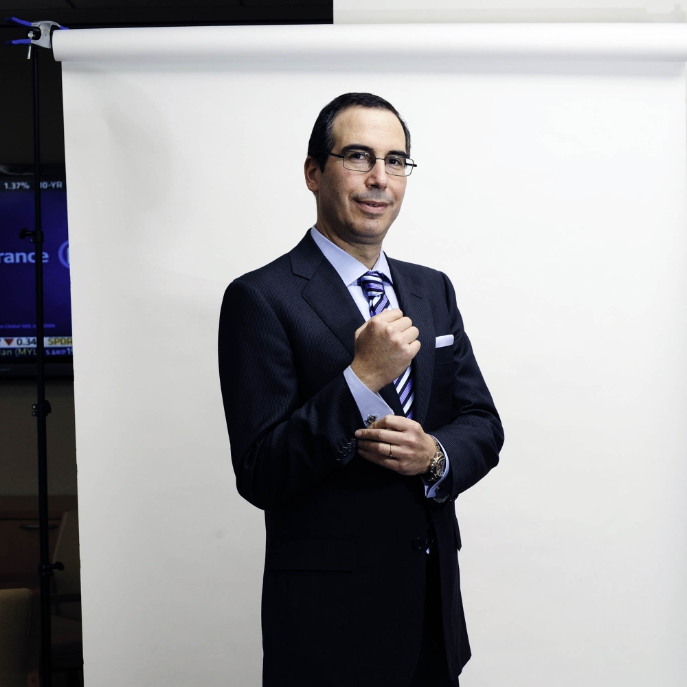 Steven Mnuchin, Donald J. Trump's pick for Secretary of Treasury
