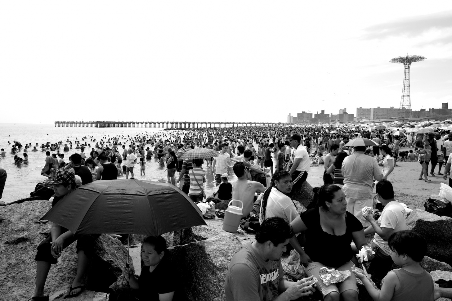 Everyone Is Here… Coney Island, NY, Summer 2011
