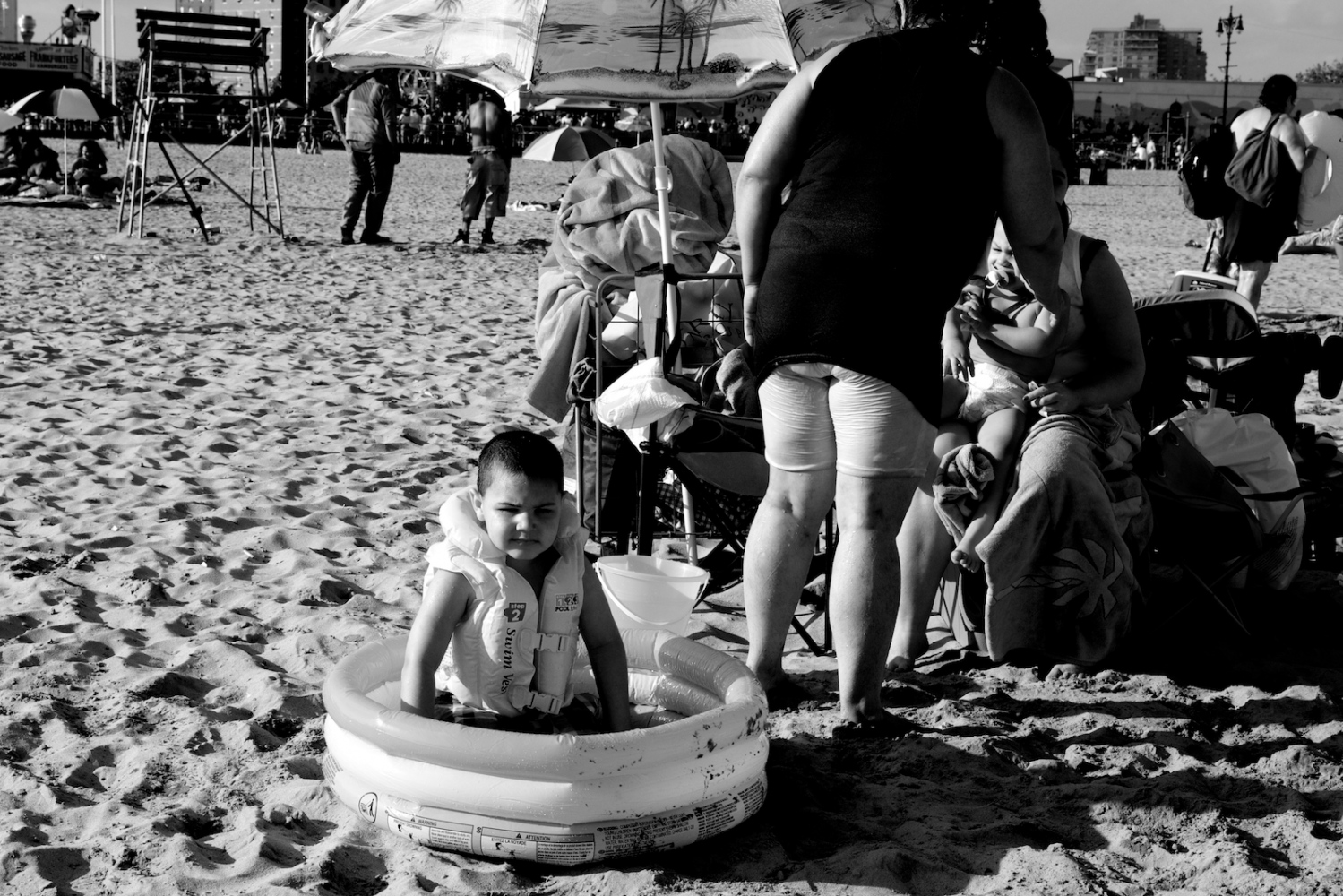 Safety First. Coney Island, NY, Summer 2011