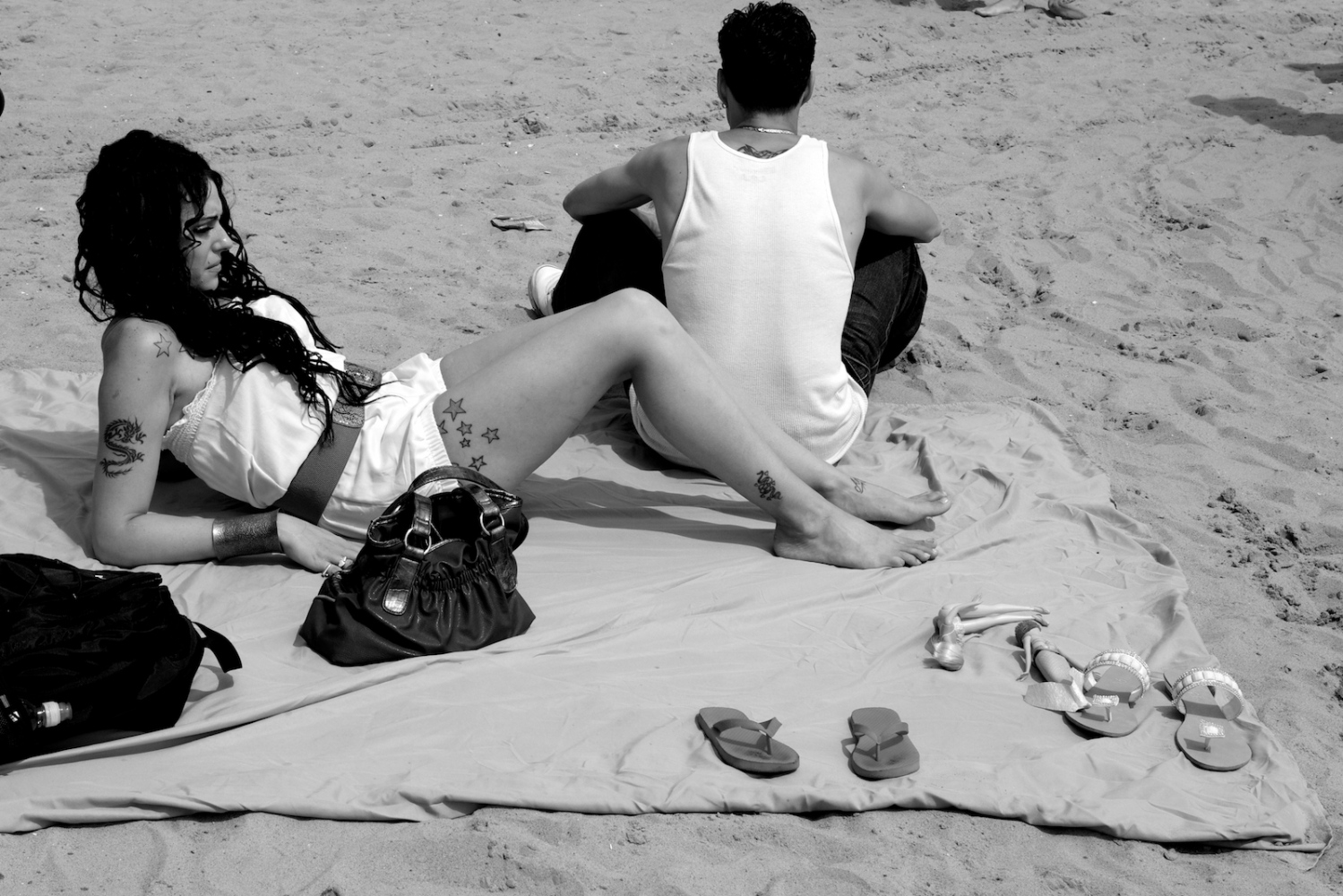 Lover's Quarrel. Coney Island, NY, Summer 2011