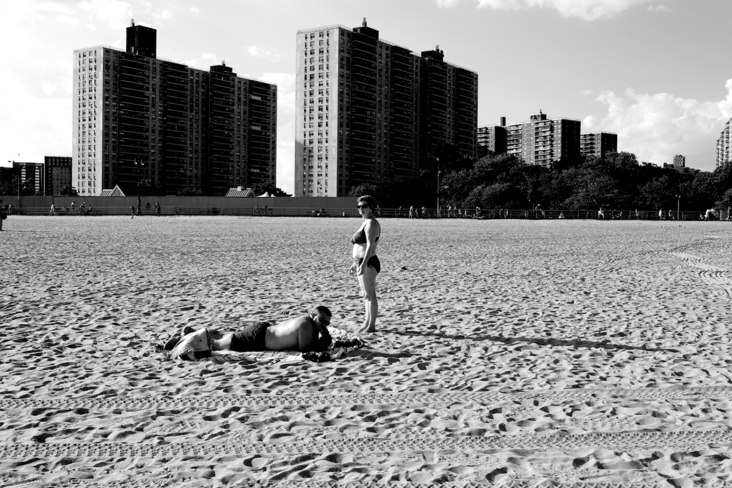 Last Woman Standing. Coney Island, NY, Summer 2011