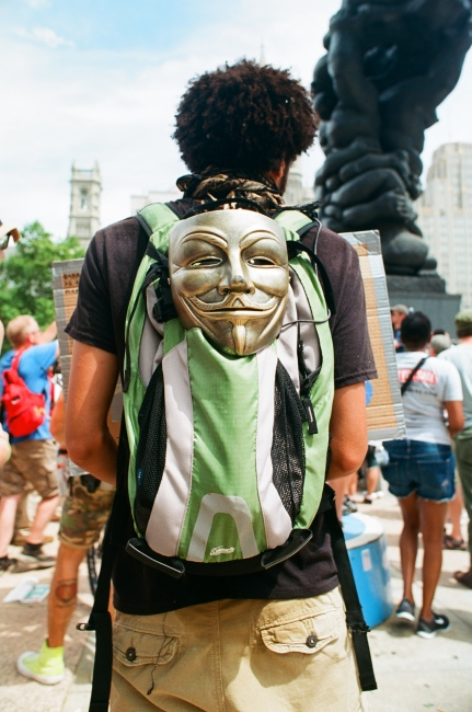 Art and Documentary Photography - Loading Mask_at_rally.jpg