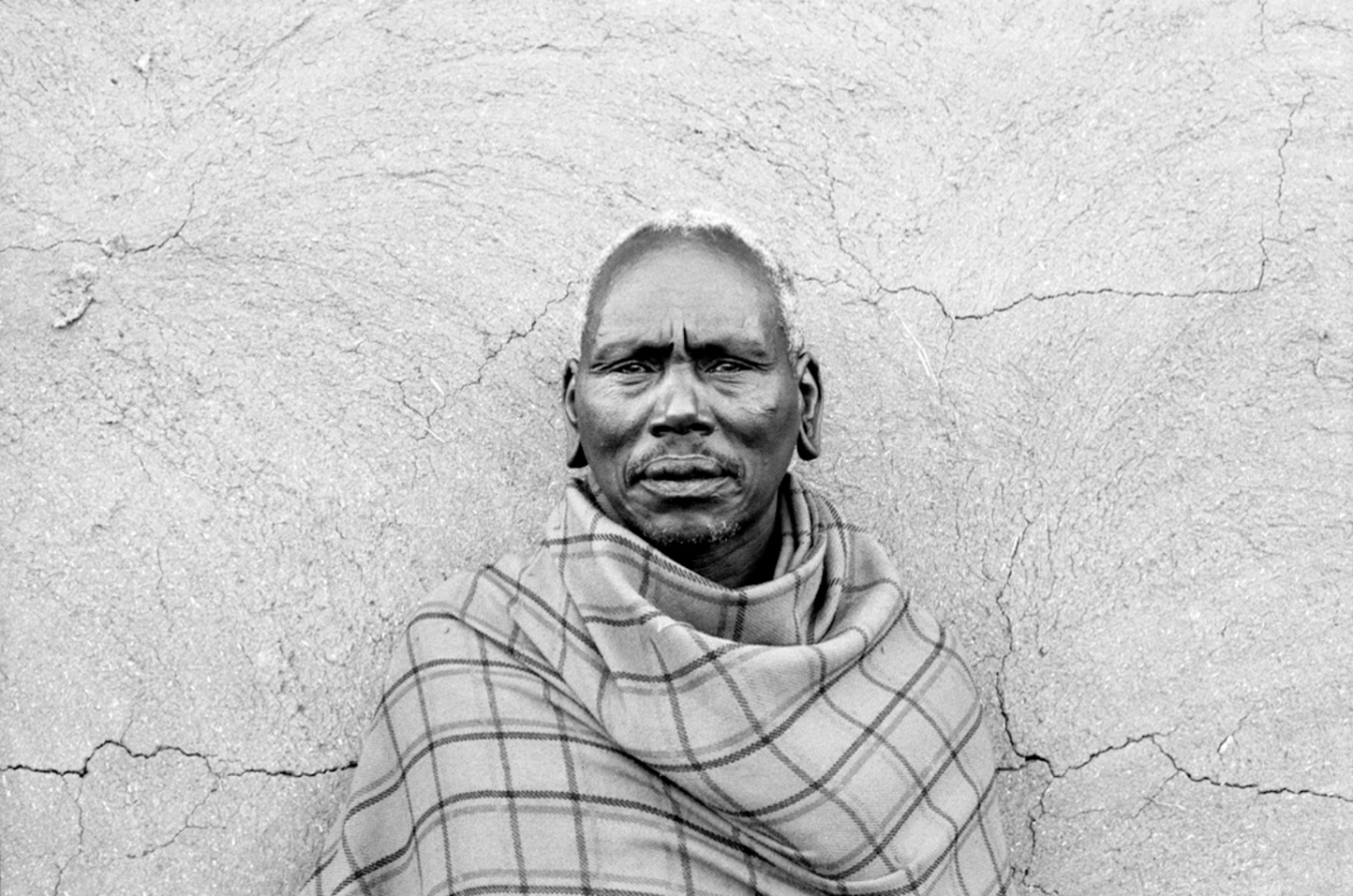 Portrait of a Man, Maasai Mara, Kenya, August 2002