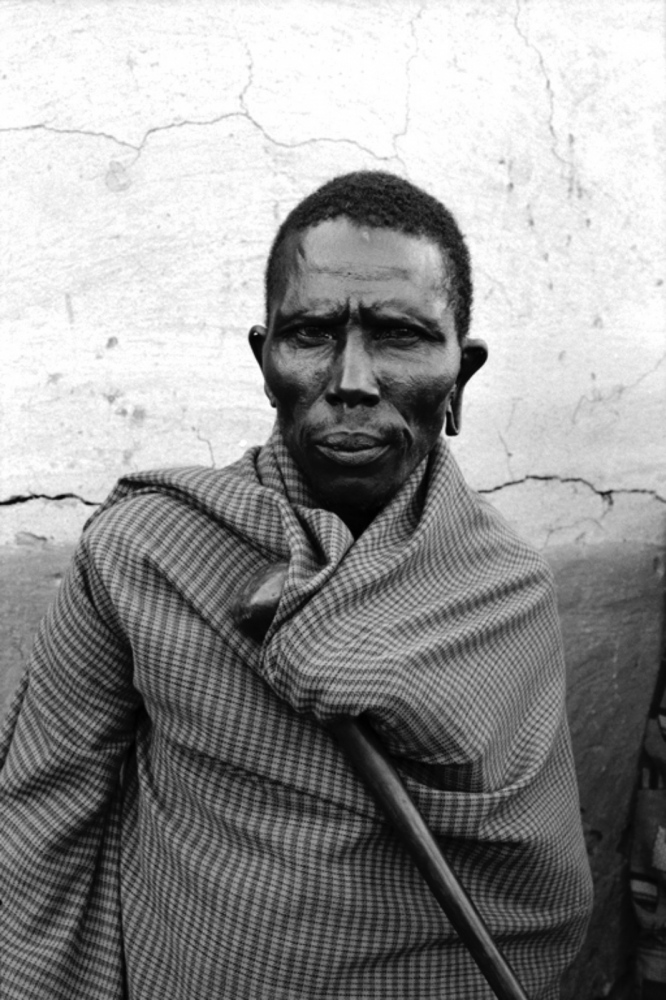 Man with Torn Earlobe, Maasai Mara, Kenya, August 2002