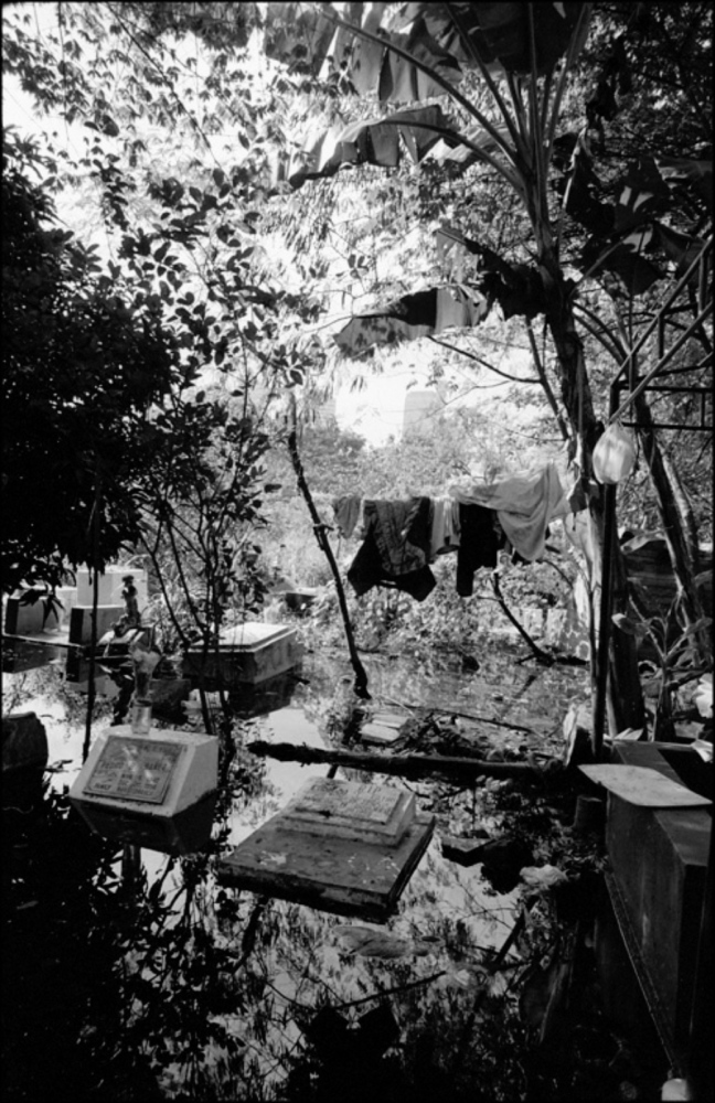 Hanging Laundry, South Cemetery, Manila, Philippines, November 2005