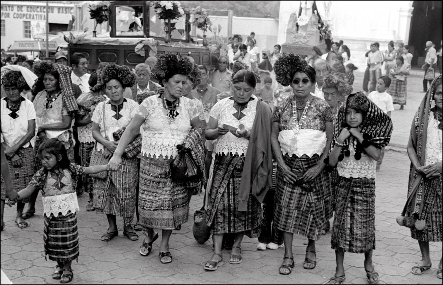 Procession of Women, Sacapulas, Guatemala, April 2006