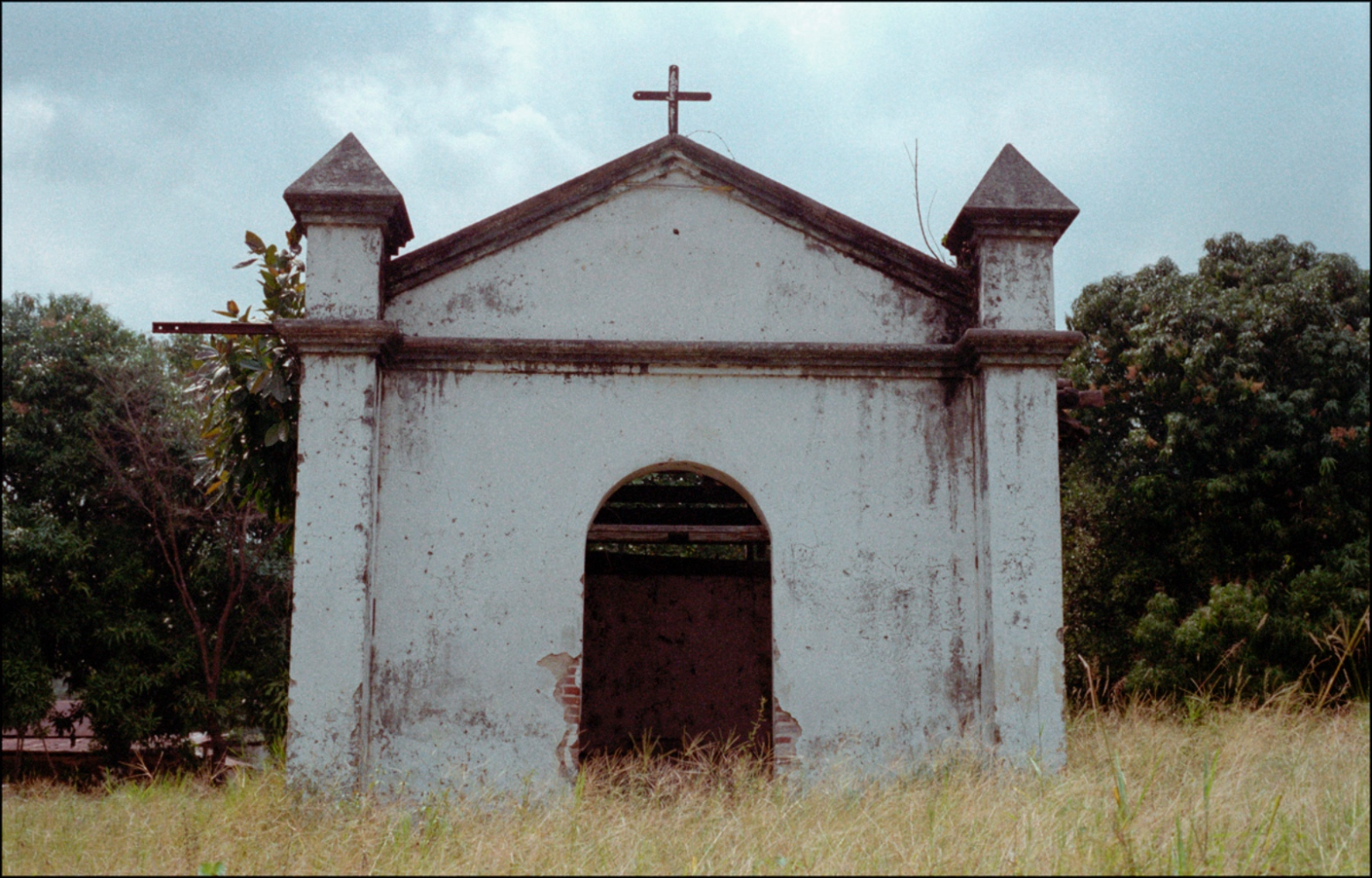 Abandoned Church, Driving through Guatemala, April 2006