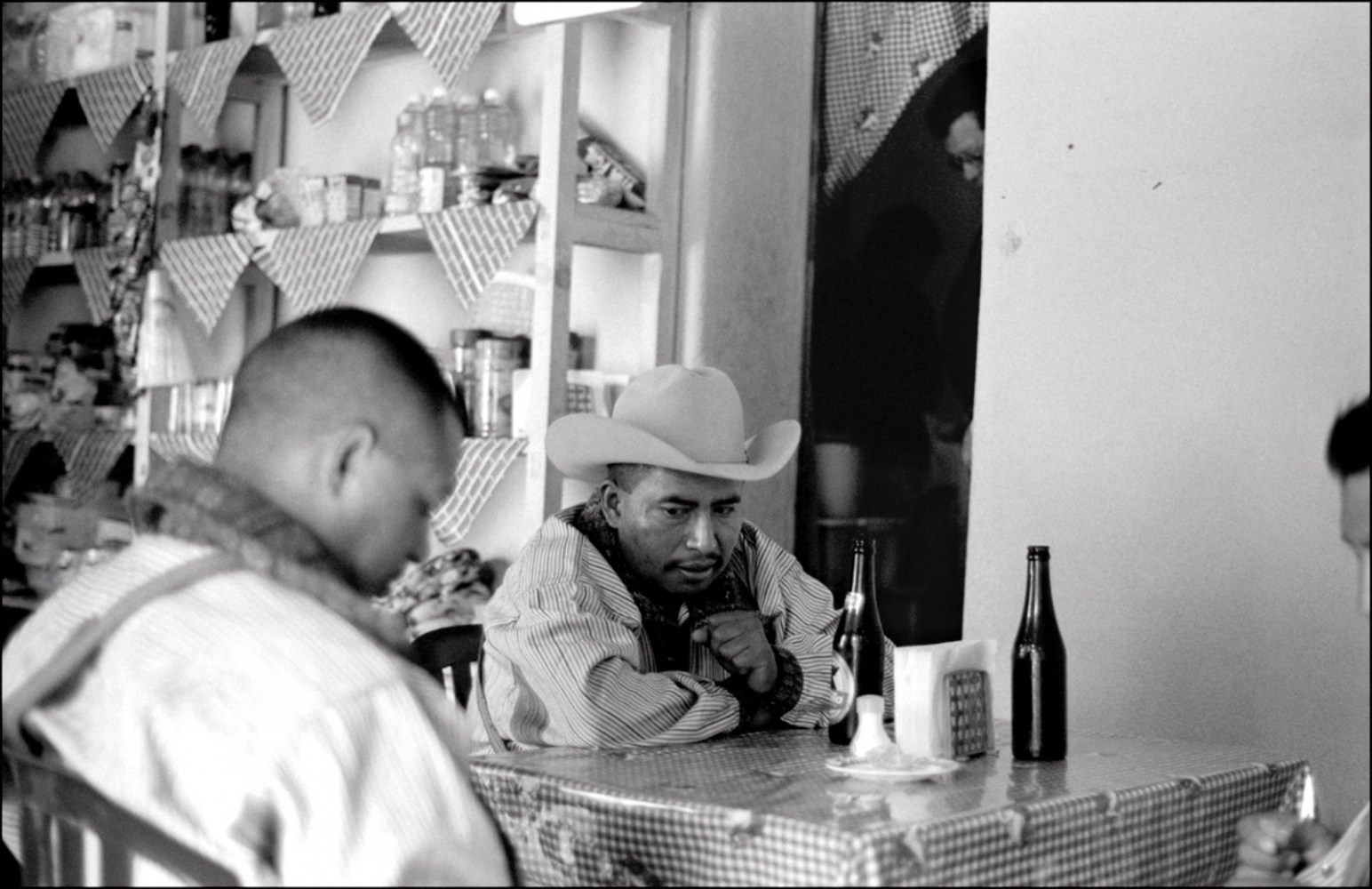 Man with Hat and Friend, Chiantla, Guatemala, April 2006