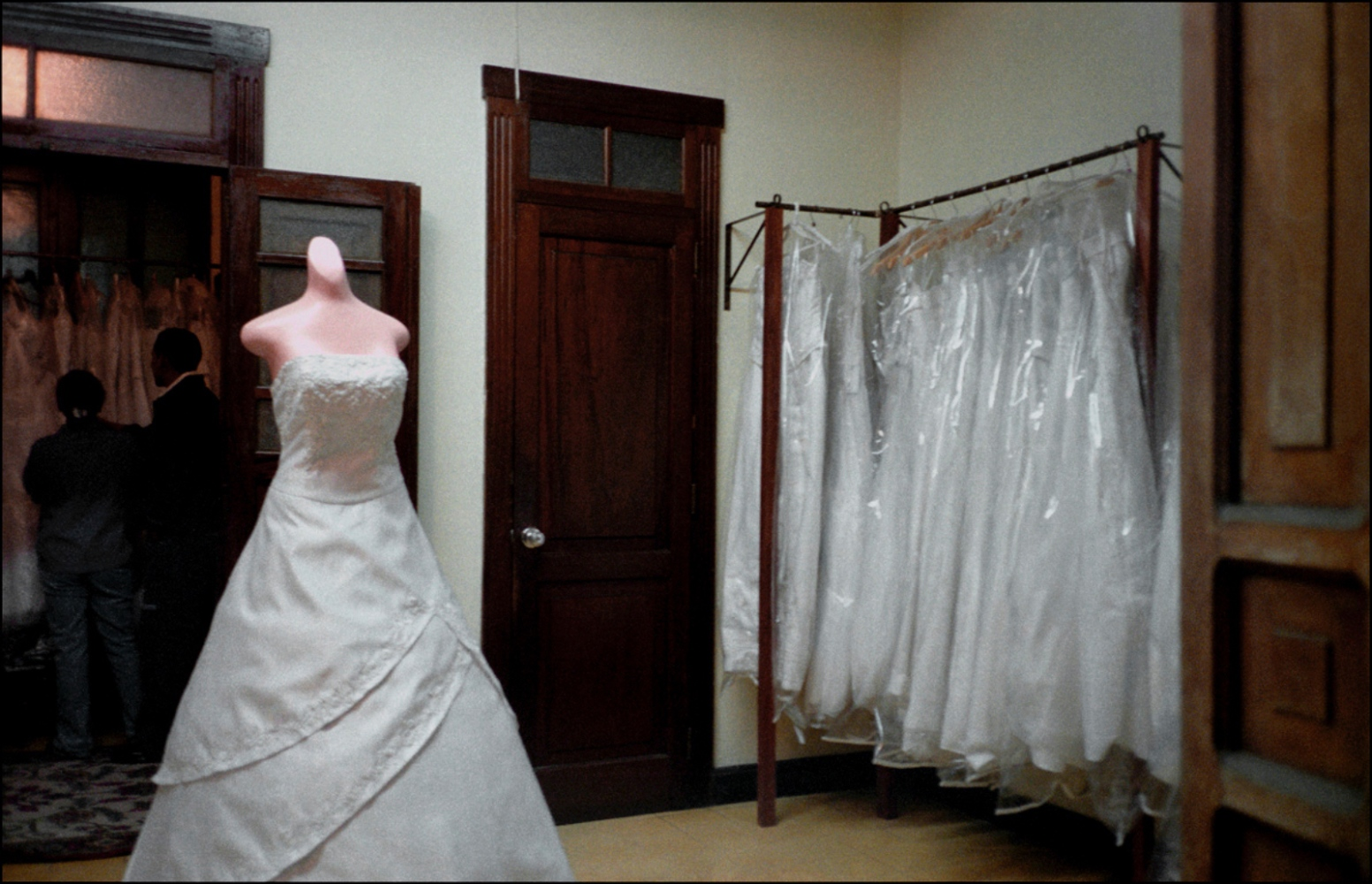 Wedding Dress, Antigua, Guatemala, April 2006