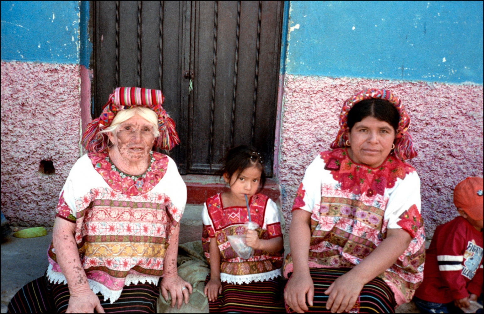 Three Generations, Aguacatan, Guatemala, April 2006