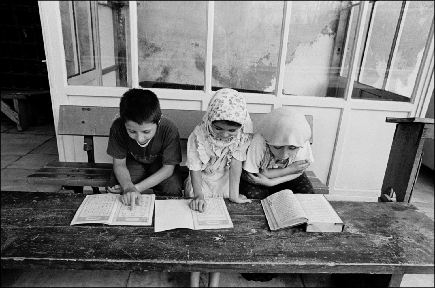 Children Reading, Turkey, Summer 1997