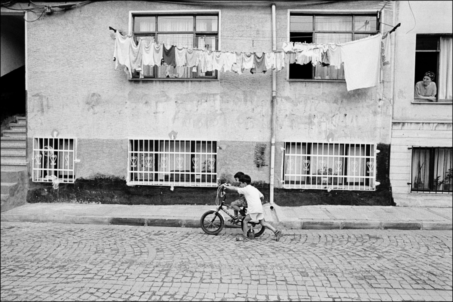 Bicycle and Laundry, Turkey, Summer 1997