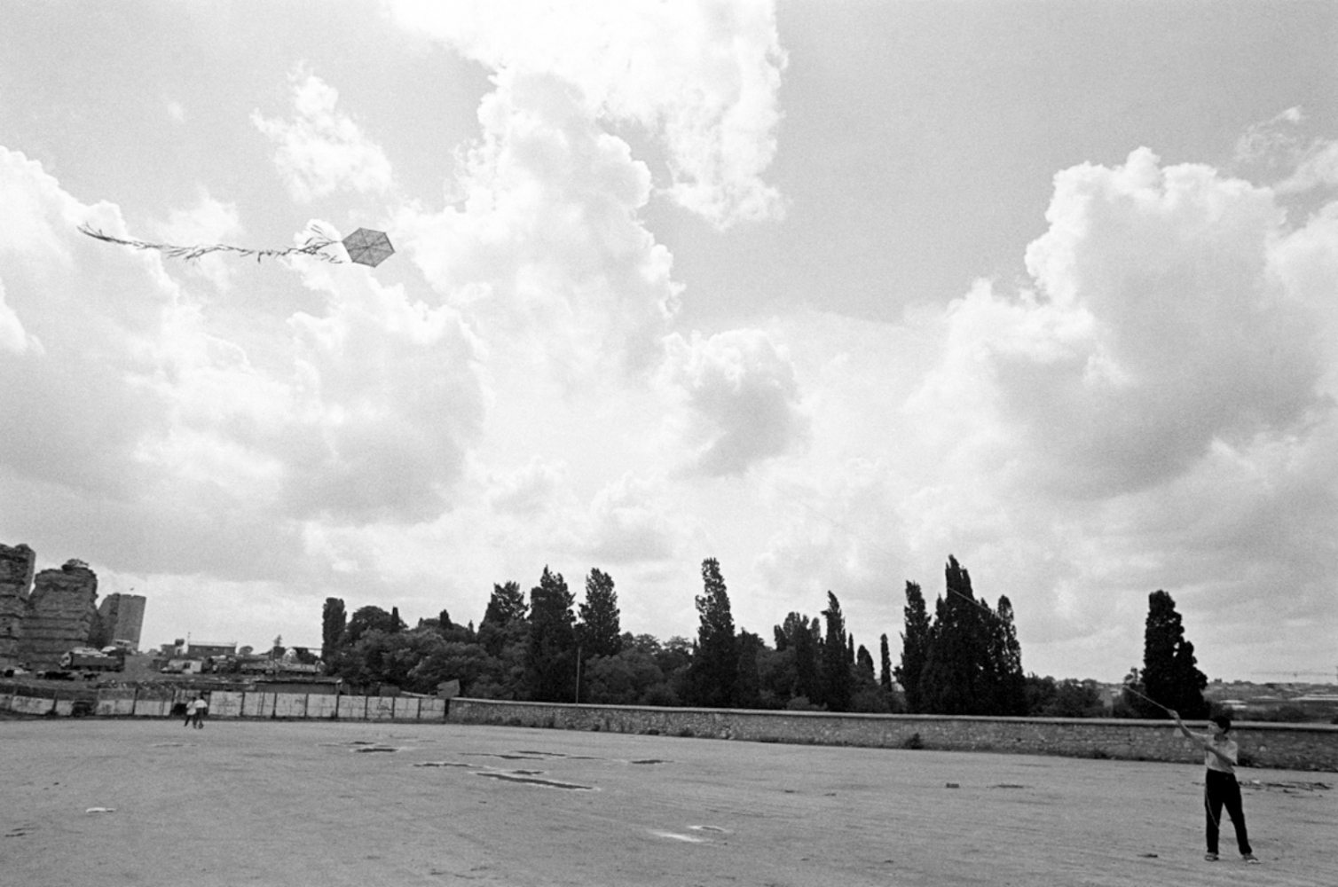 Flying Kite, Turkey, Summer 1997