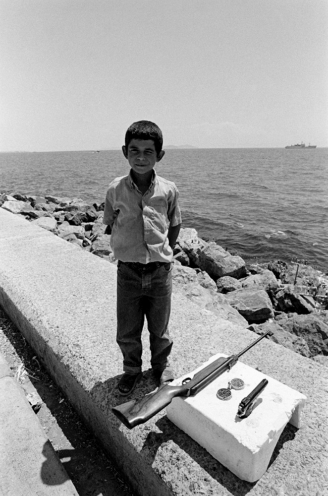 Child with Rifle, Turkey, Summer 1997