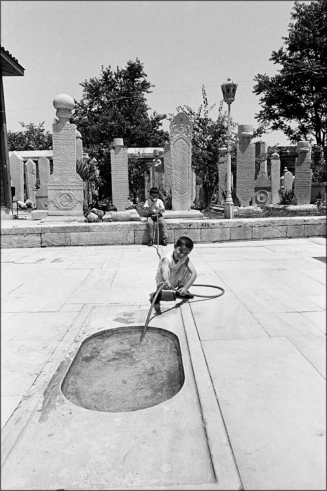 Filling Water Hole, Turkey, Summer 1997