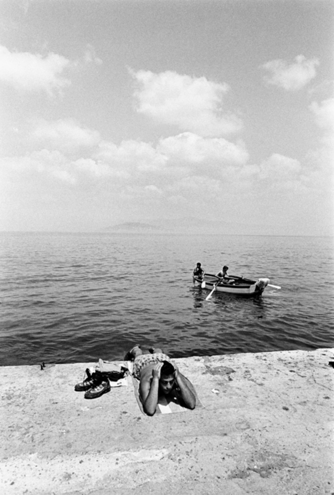 Sunbathing by Sea, Turkey, Summer 1997