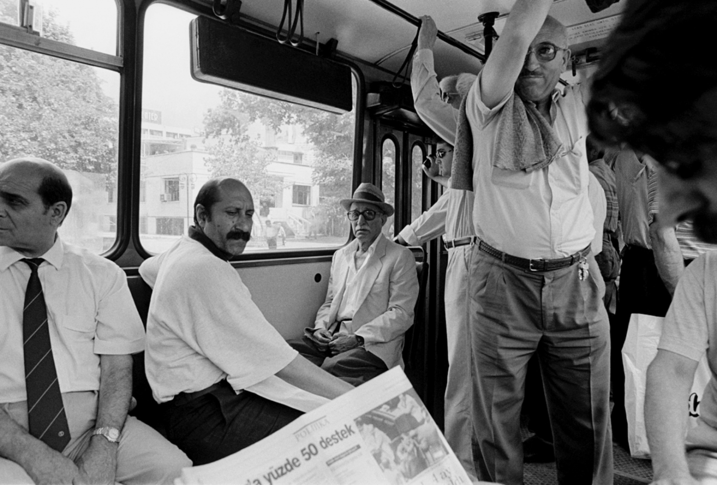 All on the Bus, Turkey, Summer 1997