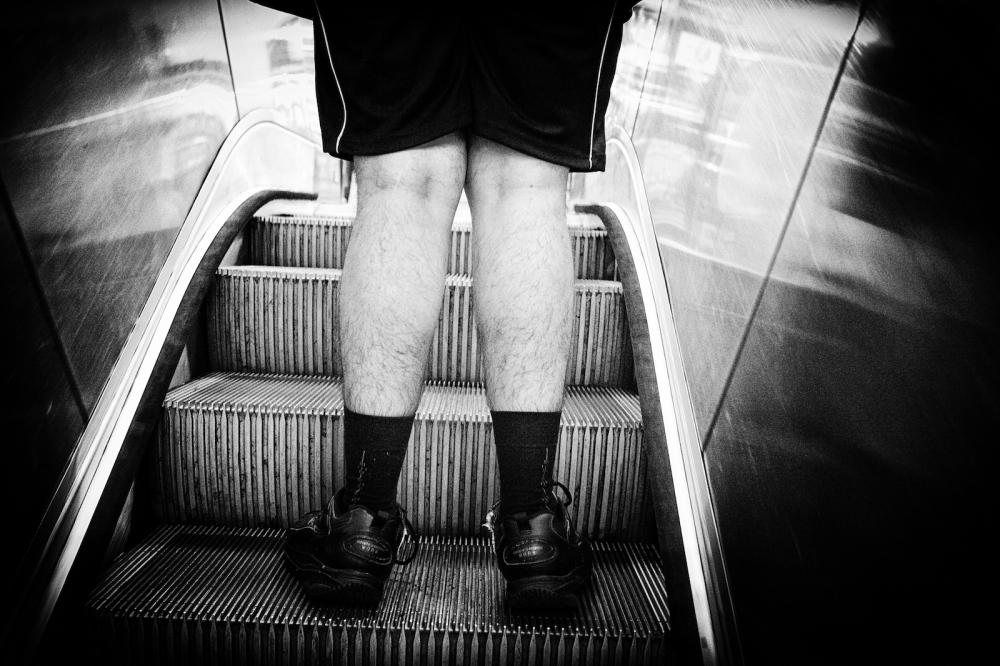 Grand Central Escalator