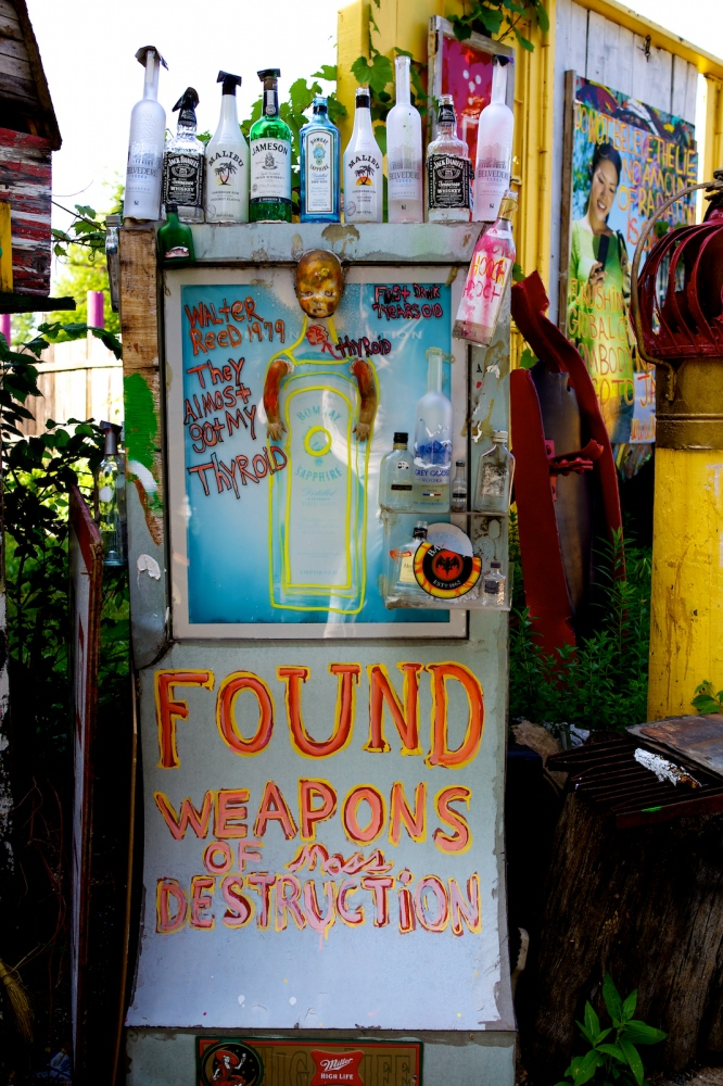 Found Weapons. Detroit, Michigan, June 2011