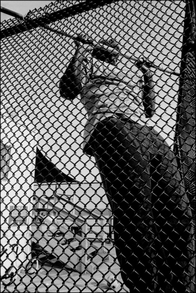 Pull-Ups Behind Bars, Coney Island, NY, July 4, 2004