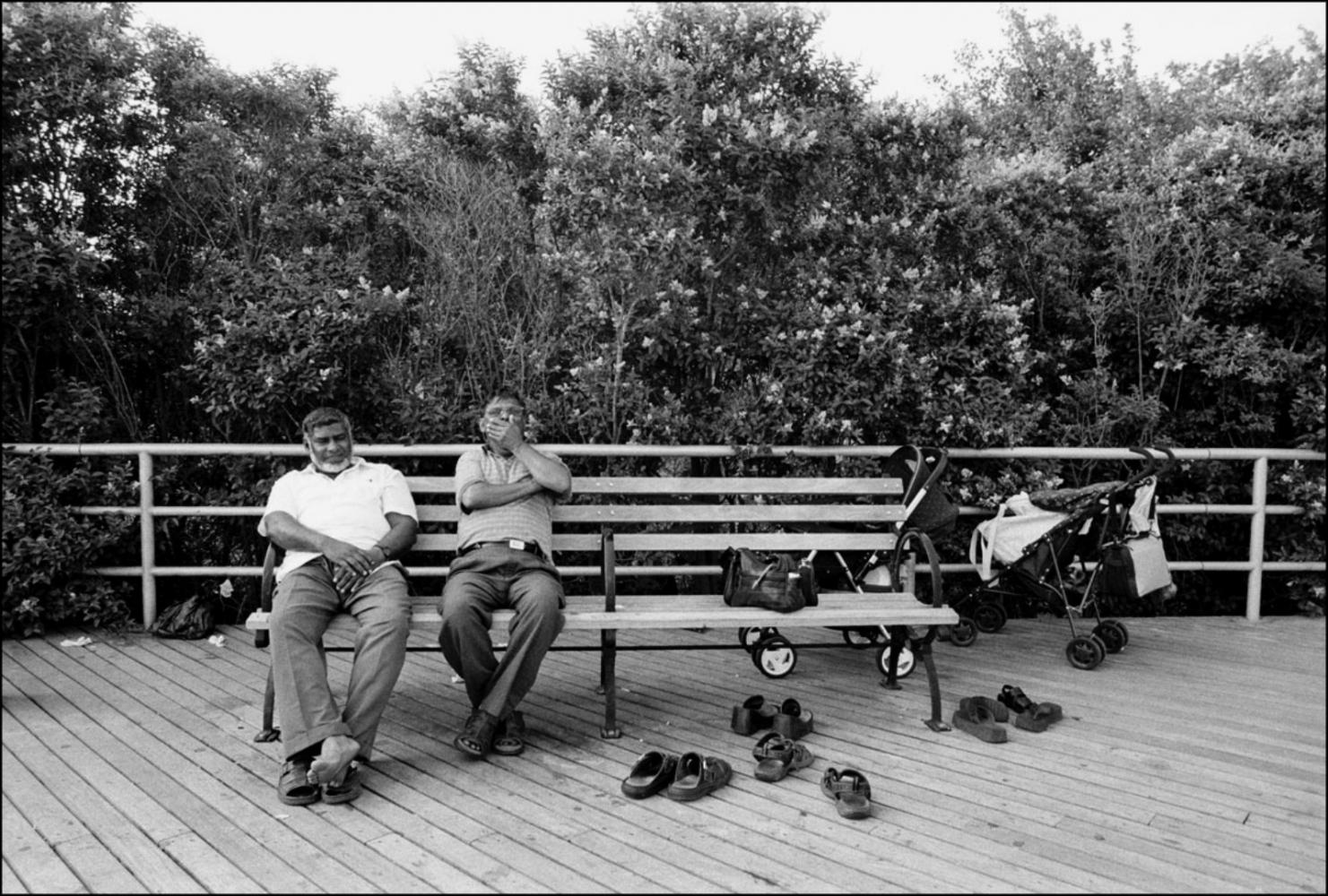 Yawn, Coney Island, NY, July 4, 2004