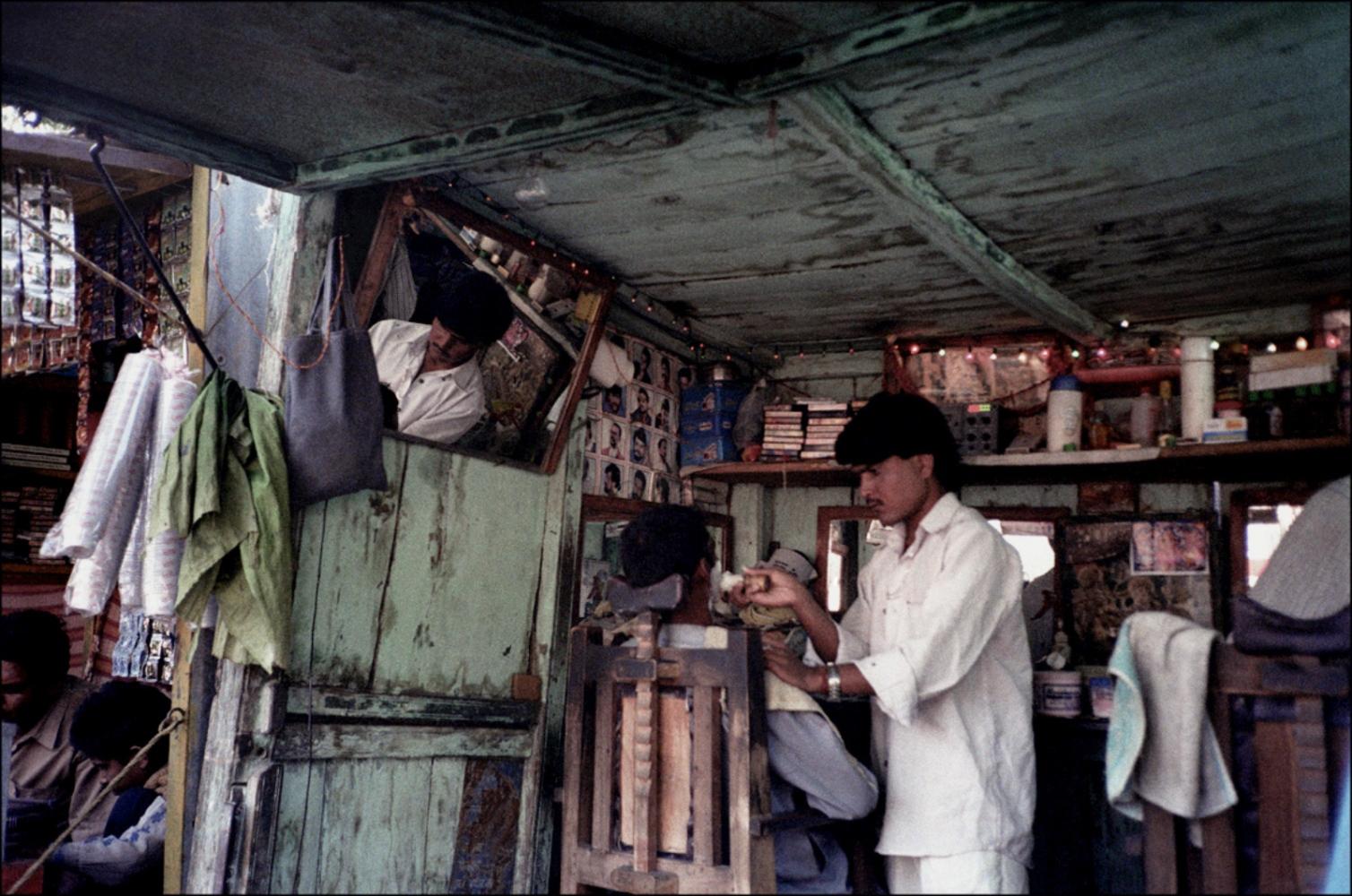 Barbershop, Pushkar, India, November 2003