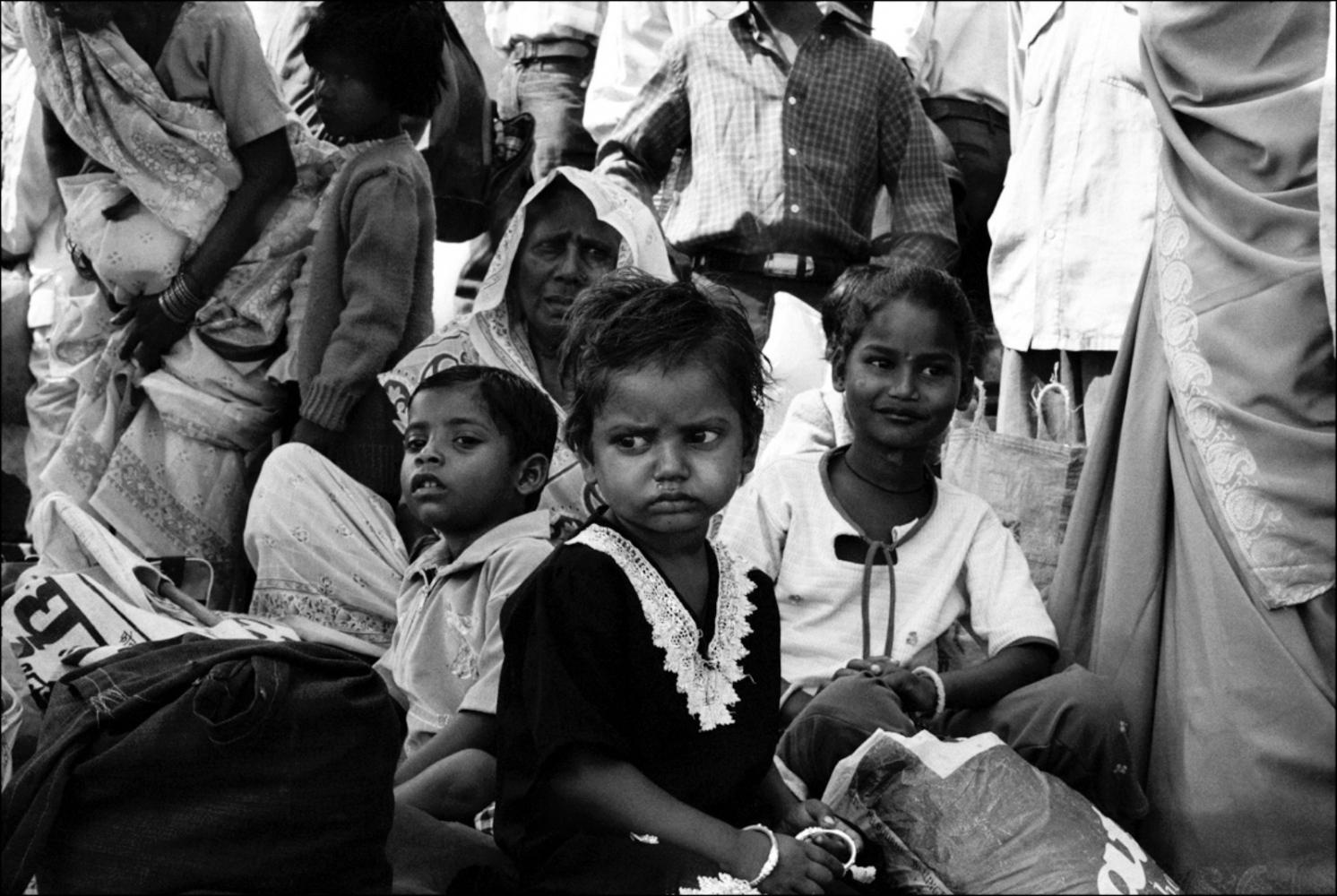 Sulking Child, Varanasi, India, November 2003