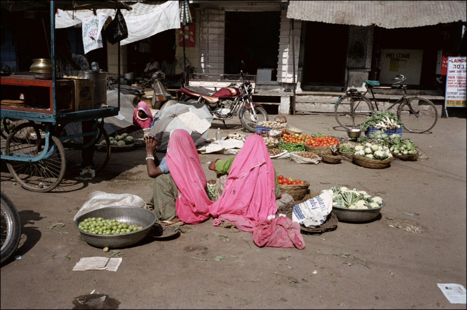 Ladies in Pink, Pushkar, India, November 2003