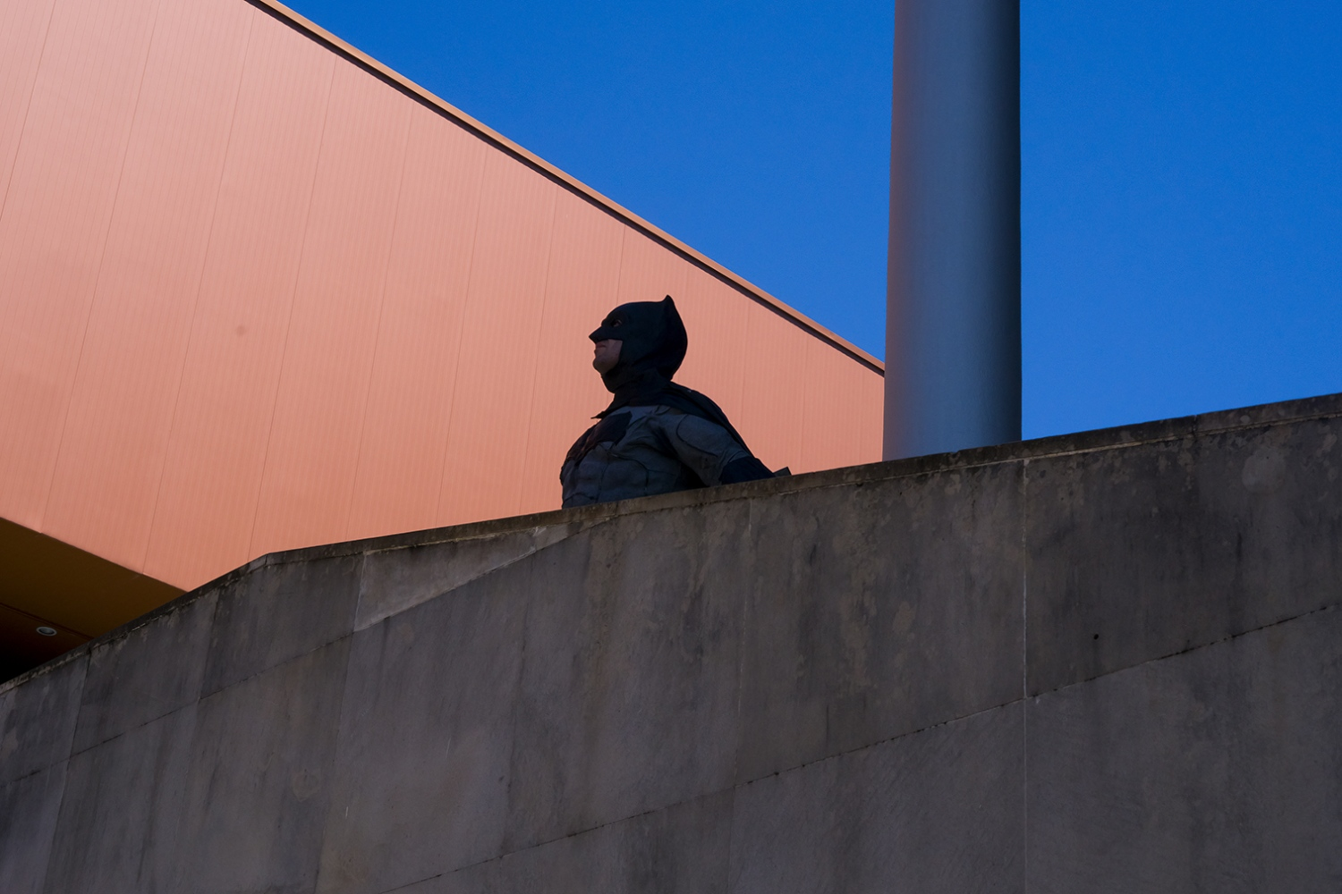 Batman is watching. Gijón. 2016
