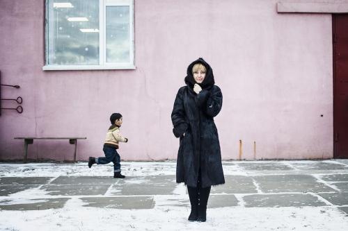 Refugee centre, Kiev