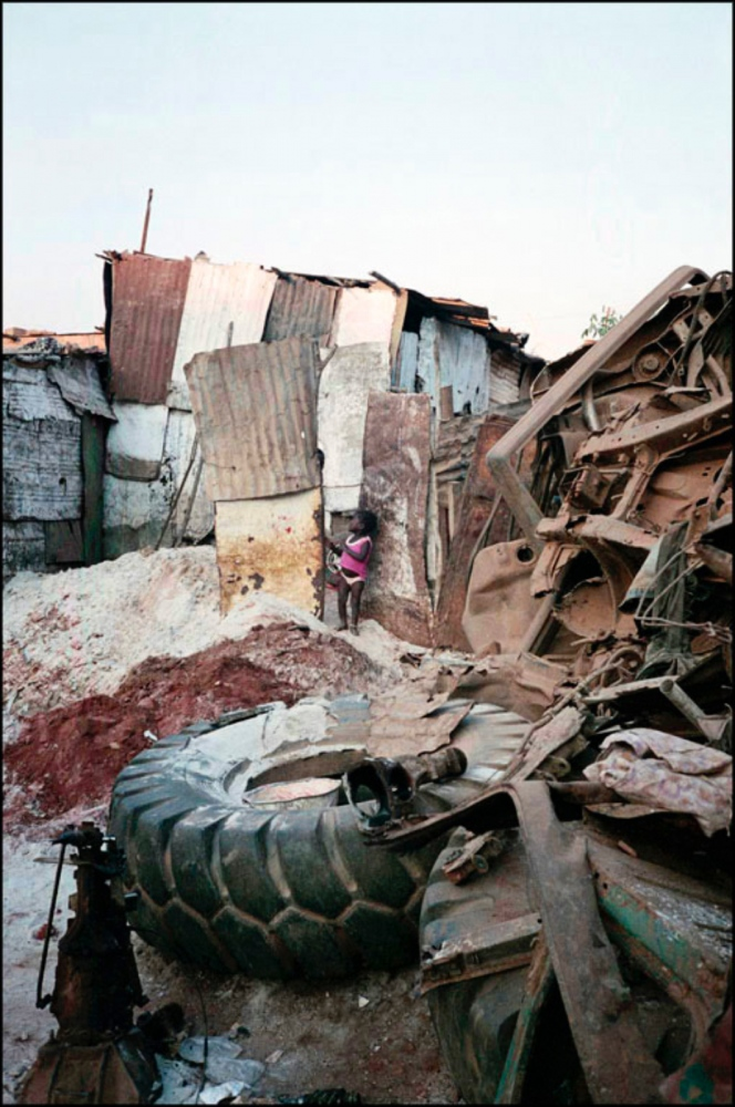 Child in Shanty Town, Luanda, Angola, July 2000