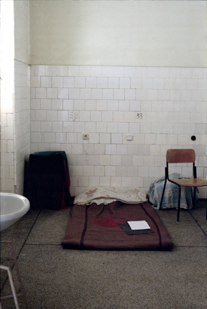 Hospital Mattress, ICRC Hospital, Huambo, Angola, July 2000