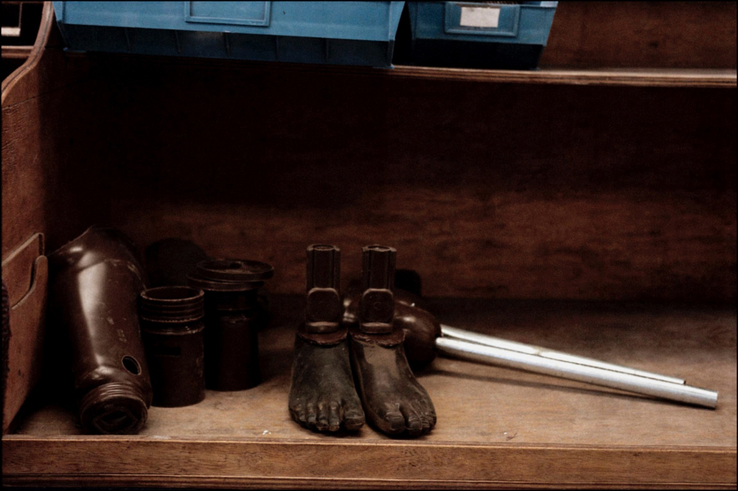 Prosthetic Feet, ICRC Orthopedic Center. Kuito, Angola, July 2000