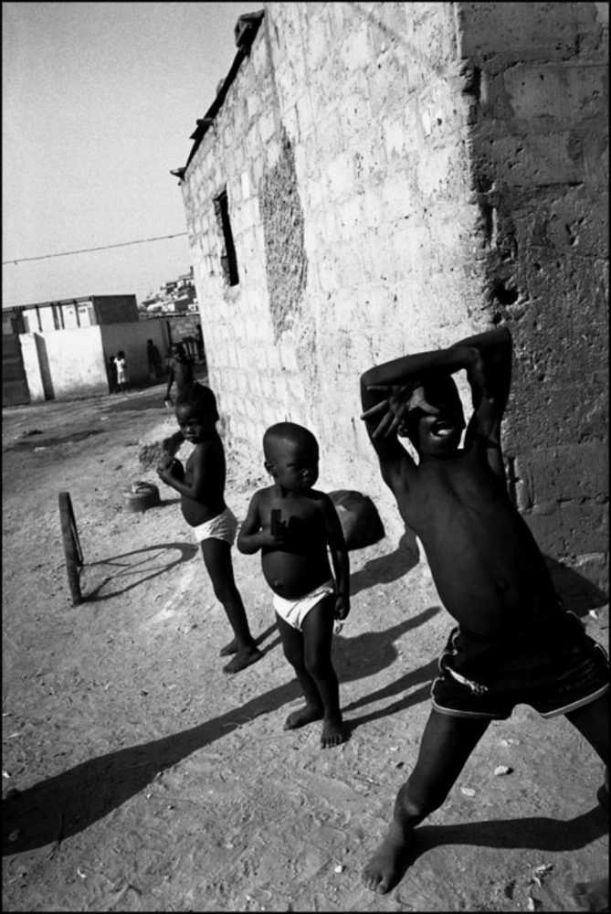 Boy Posing, Caala, Angola, July 2000
