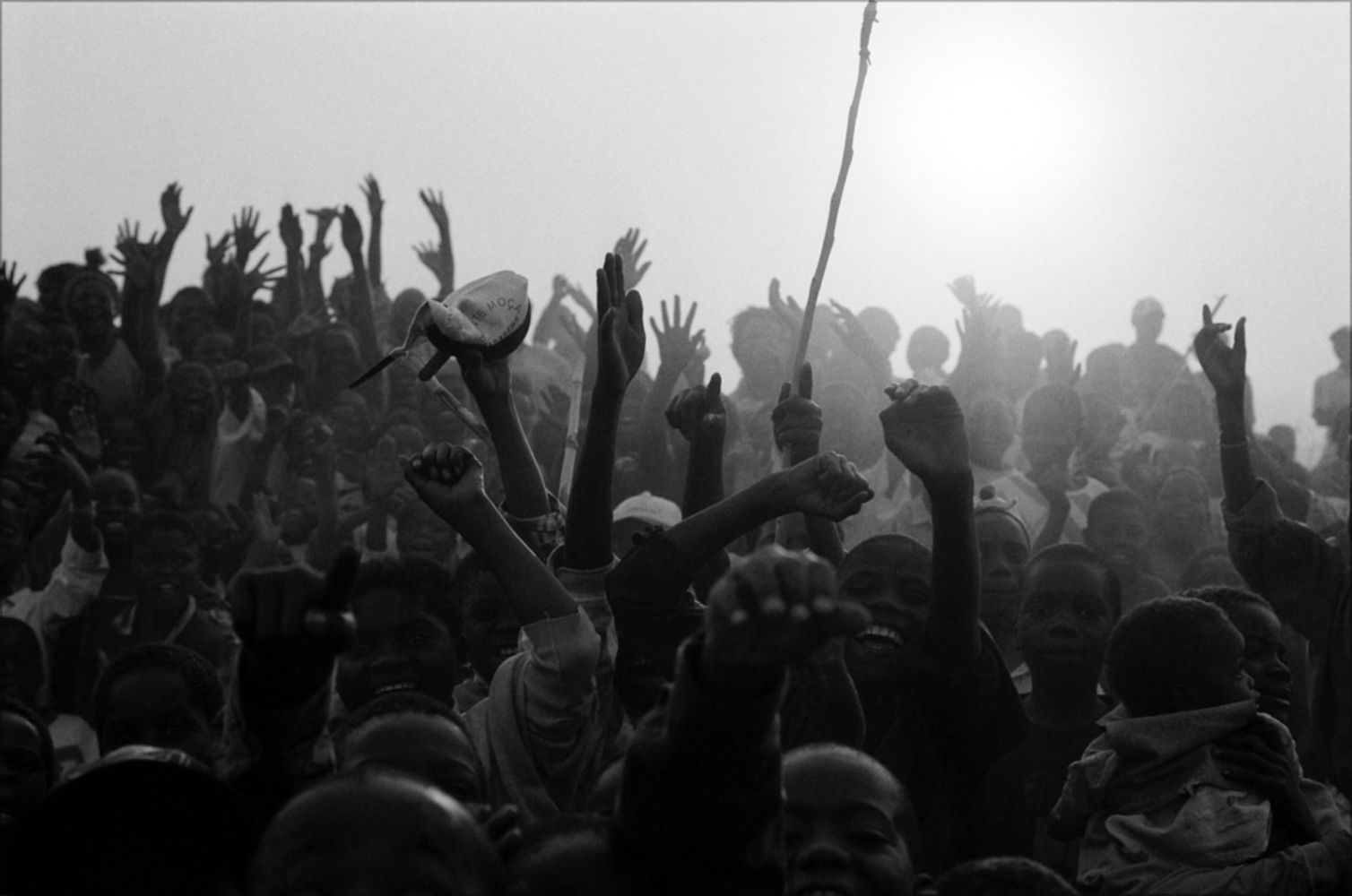 Euphoric Crowd, Kuito, Angola, July 2000