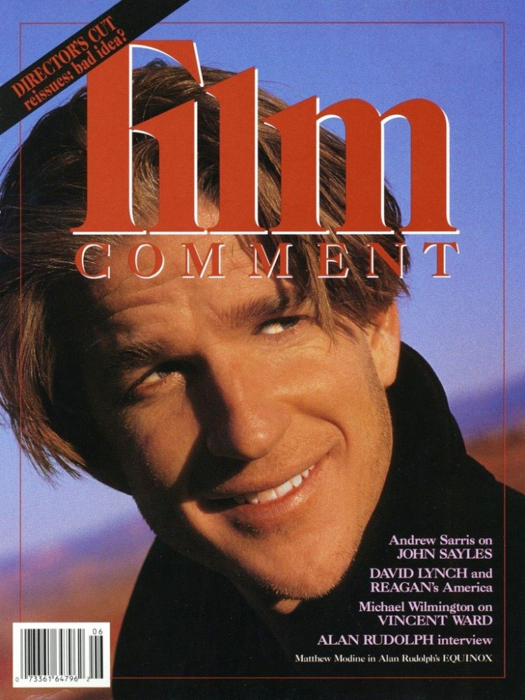 Film Comment Matthew Modine photographed in Moab, Utah