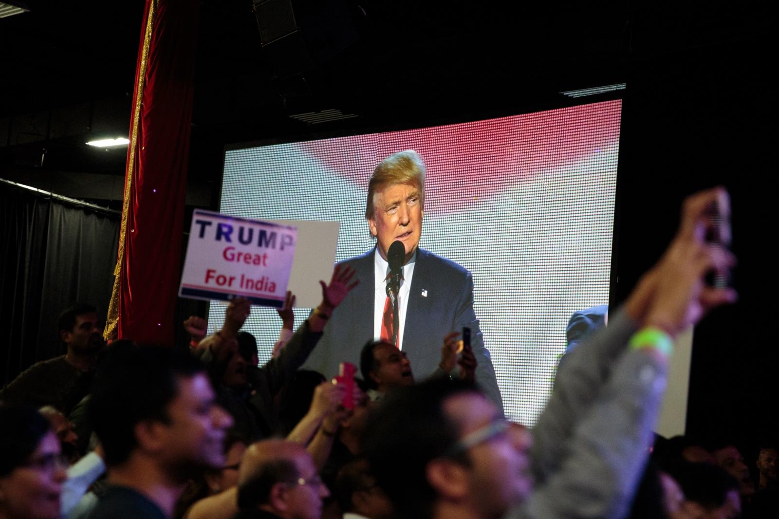 Slate Hindus for Trump