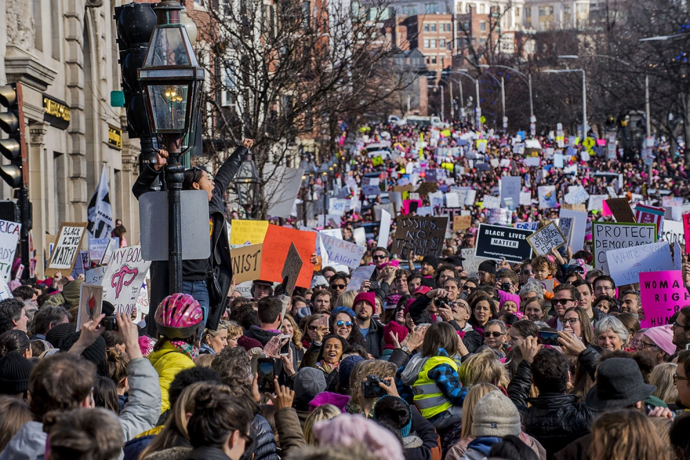 Boston Womens March for America