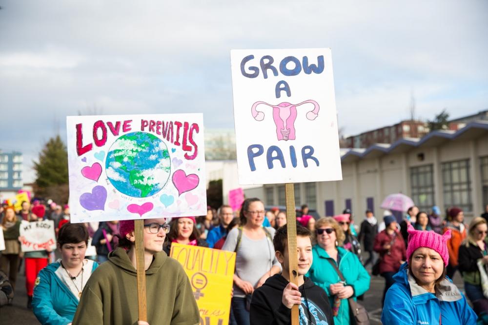 Women's March on Seattle