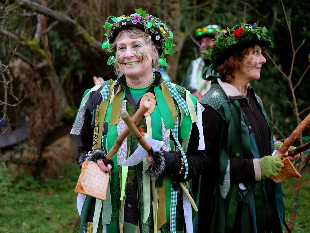 Wassail is a traditional Pagan winter...