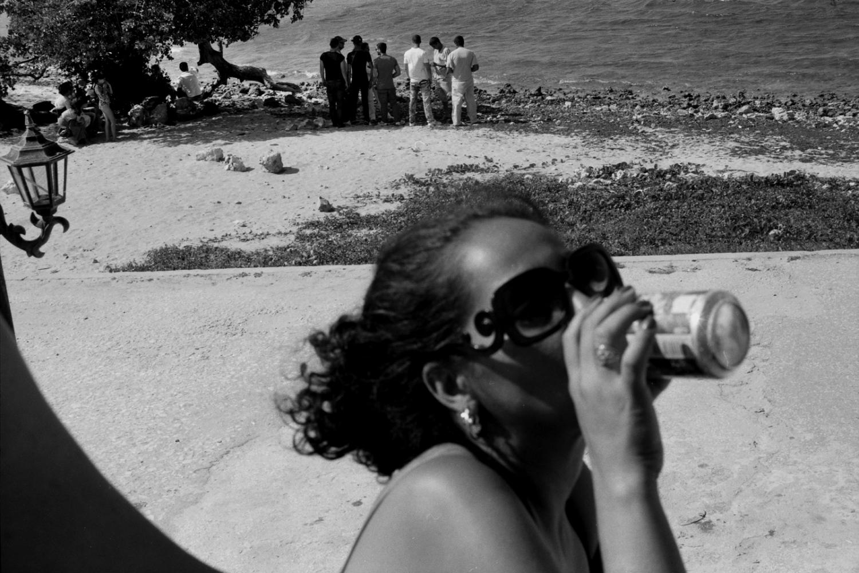Beach games. Cuba.