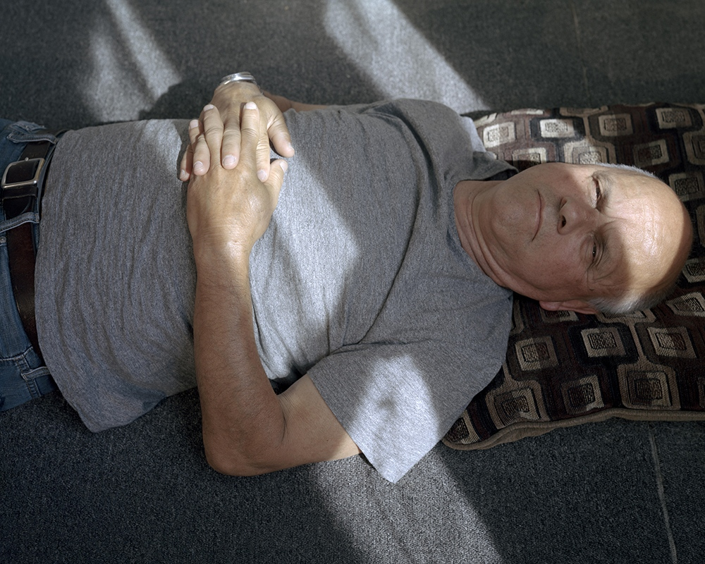 Dad After a Nap (Summer), Paterson, NJ , 2014