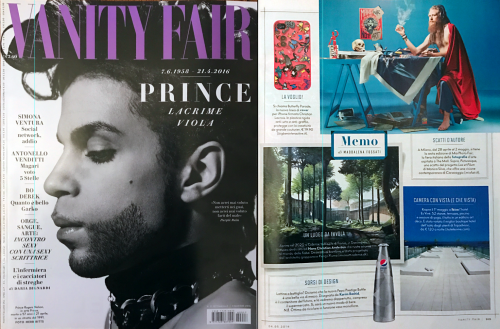 VANITY FAIR  Italy Lux Et Filum - Picturesque May 4th, 2016