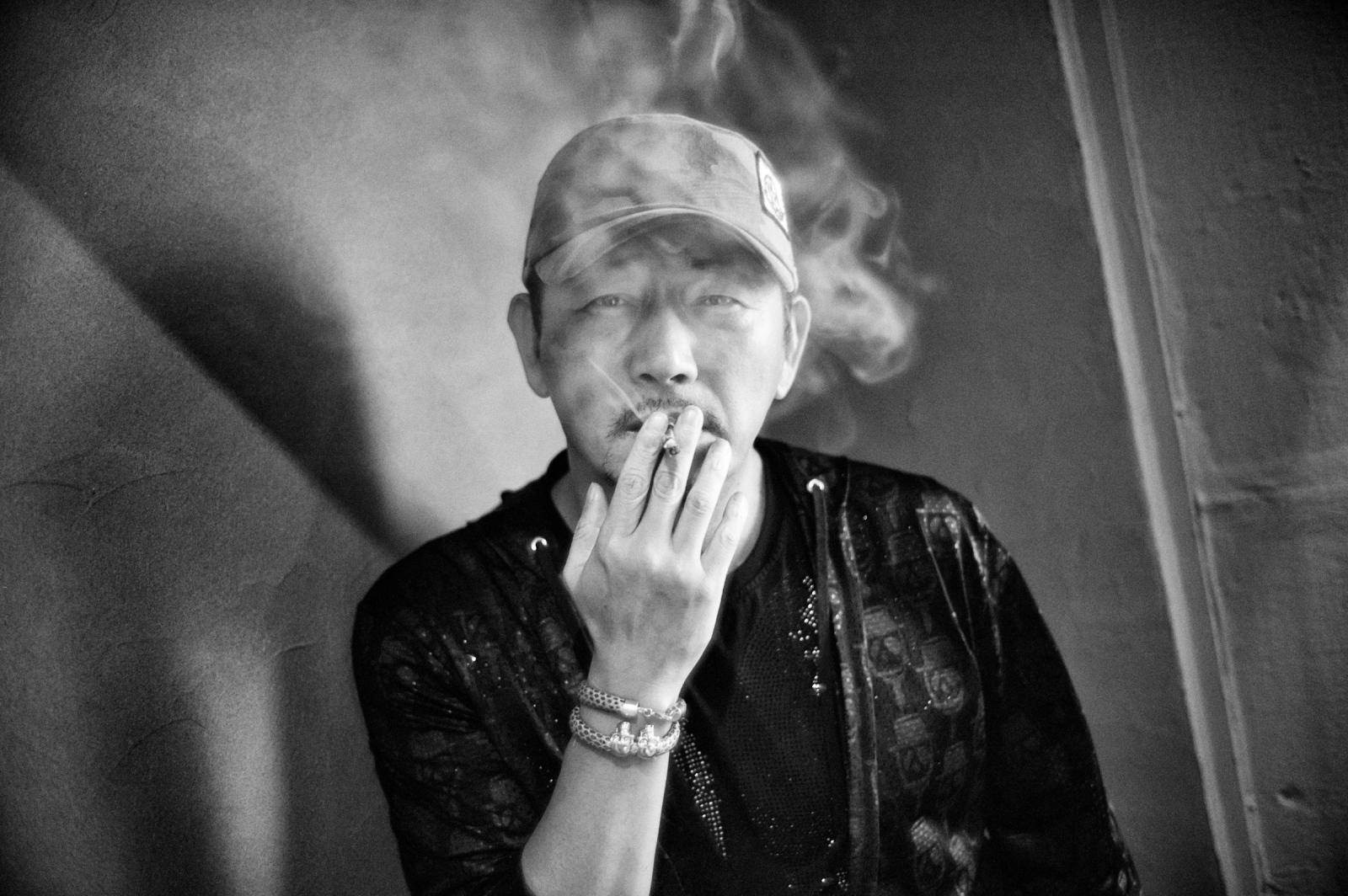 Jun Gwang-ryul (전광렬), actor. Seoul, 2016.