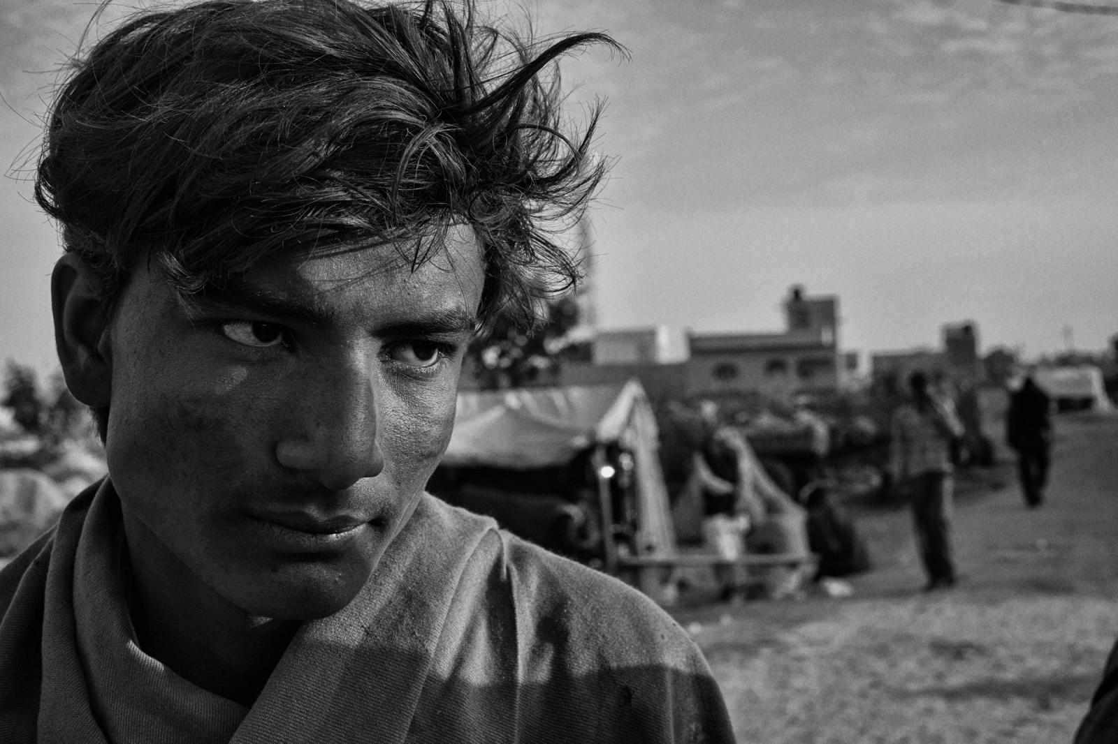 A stranger. Rajasthan, 2011.