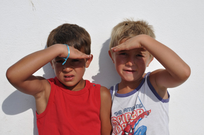 Gipsy kids - Enfants gitans