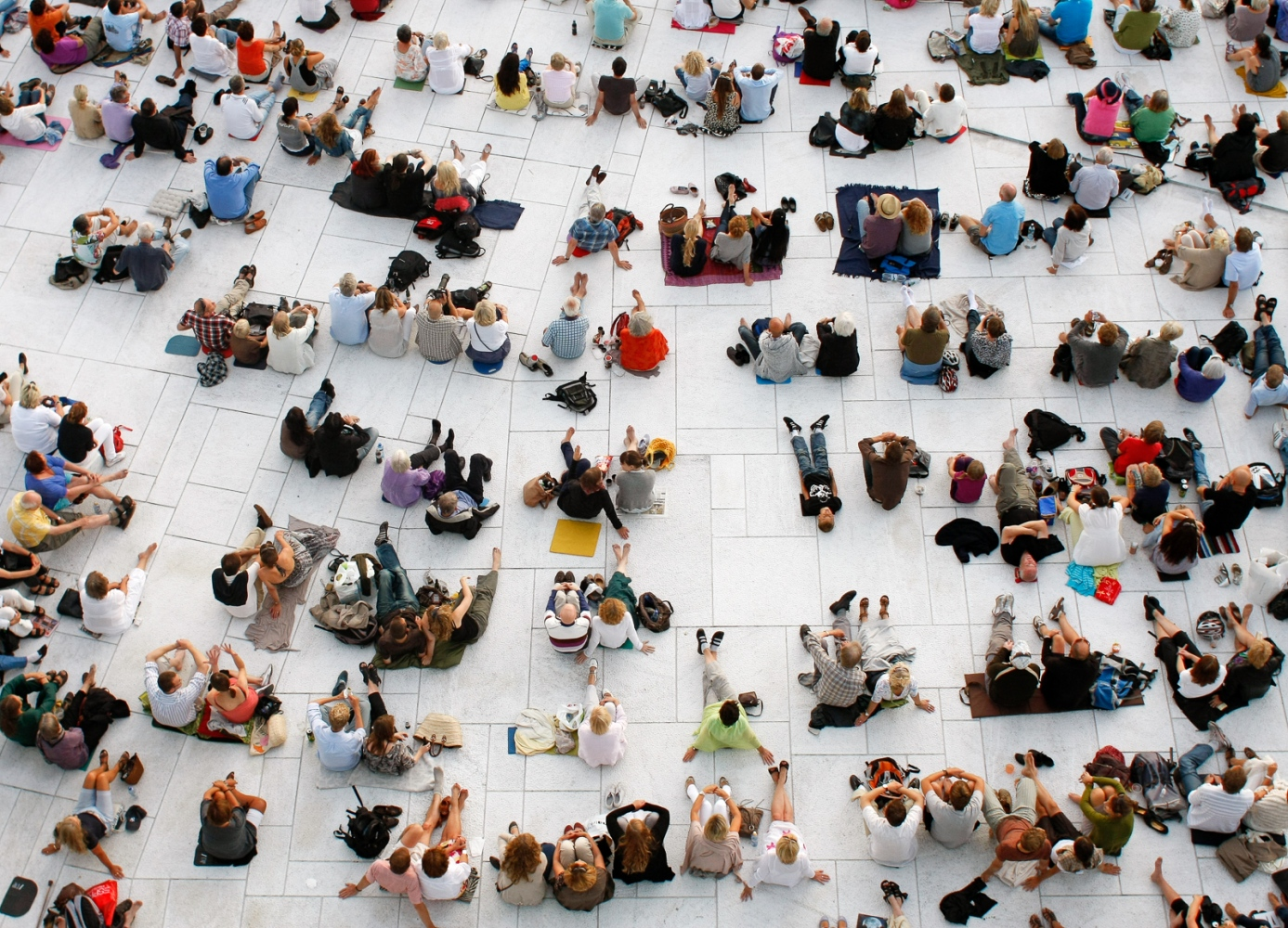 Outdoor concert at Oslo Opera House, Norway