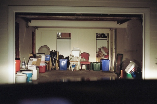 My parents garage, Barrington, RI