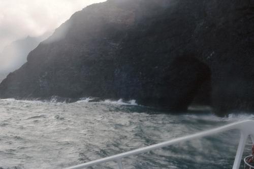 Waves on the Nepali Coast, Kauai, HI